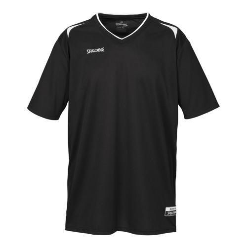 Shooting-shirt Spalding Attack adulte noir / blanc