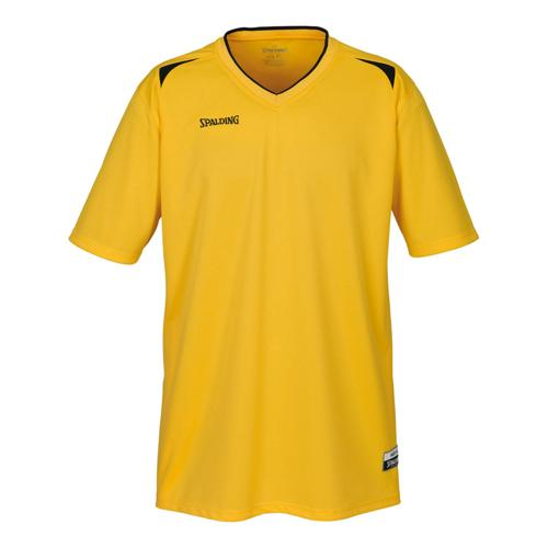 Shooting-shirt Spalding Attack adulte jaune / noir