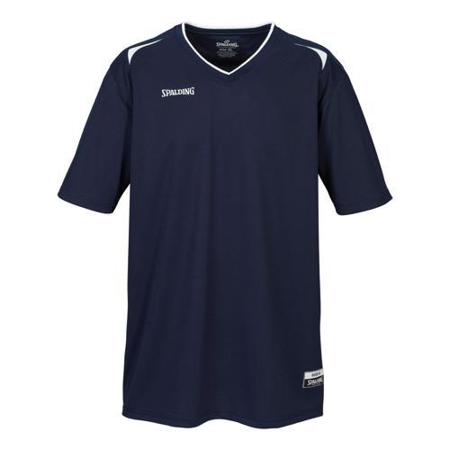 Shooting-shirt Spalding Attack adulte marine / blanc