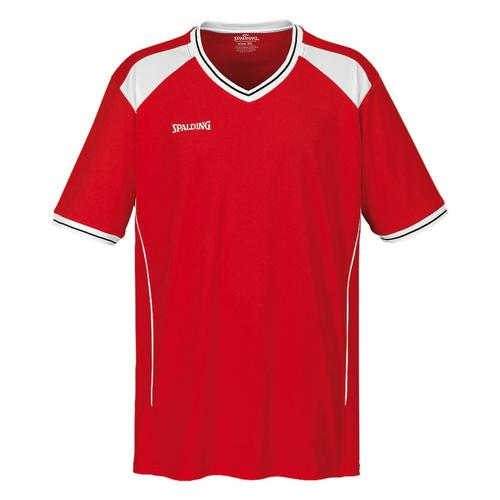 Shooting-shirt Spalding Crossover rouge/blanc
