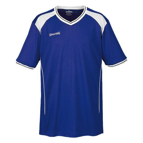 Shooting-shirt Spalding Crossover royal/blanc