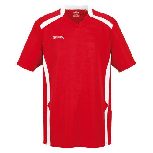 Shooting-shirt Spalding Offense rouge/blanc