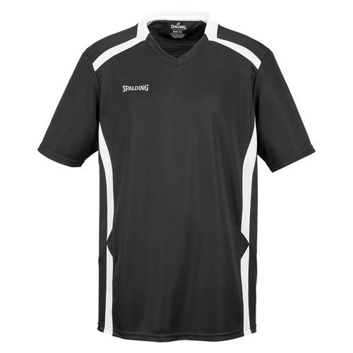 Shooting-shirt Spalding Offense noir/blanc