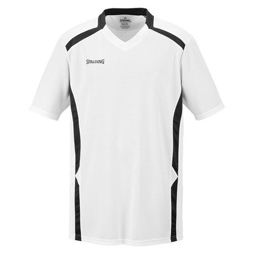 Shooting-shirt Spalding Offense blanc/noir