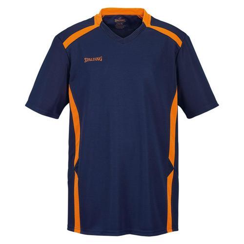 Shooting-shirt Spalding Offense marine/orange fluo