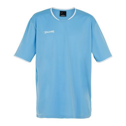 Shooting-shirt Spalding Move MC Ciel/Blanc