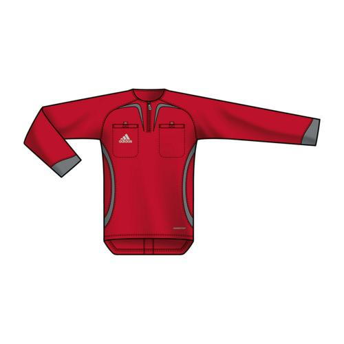 MAILLOT ARBITRE ROUGE ML adidas