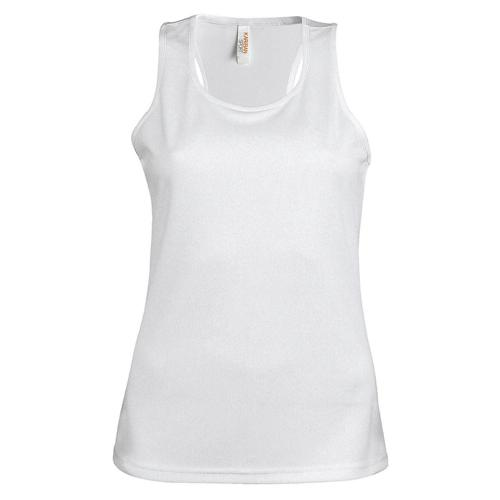 Débardeur féminin Casal Sport Blanc