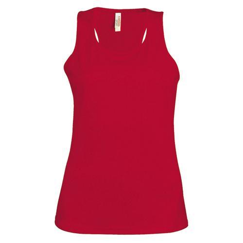 Débardeur féminin Casal Sport Rouge