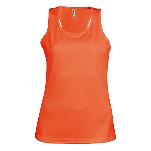 Débardeur féminin Casal Sport Orange