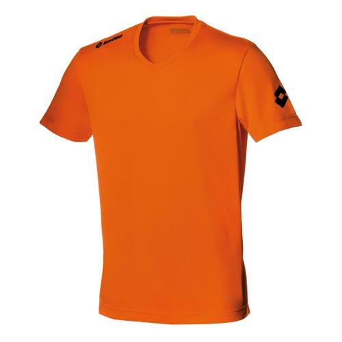 Maillot Lotto Team Evo MC Orange Fluo