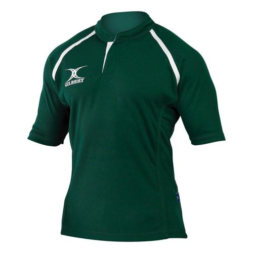 Maillot de rugby X-Act Gilbert vert