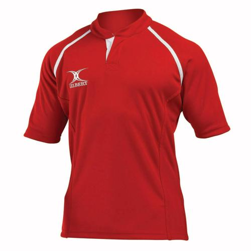 Maillot de rugby X-Act Gilbert rouge
