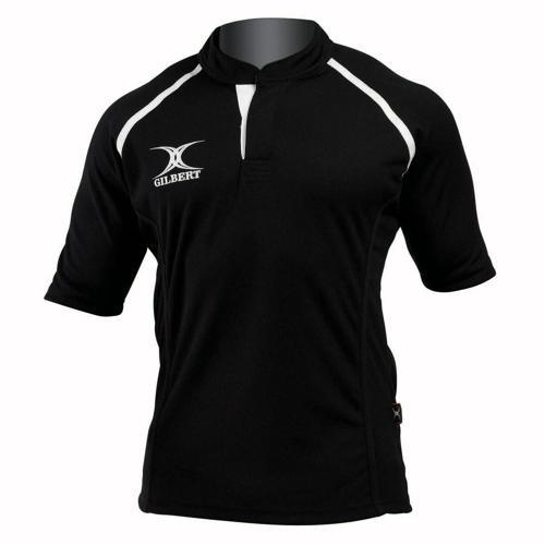 Maillot de rugby X-Act Gilbert noir