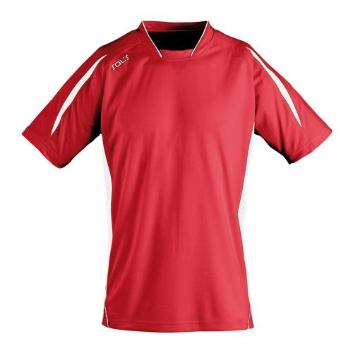 Maillot personnalisable Club Maracana manches courtes rouge