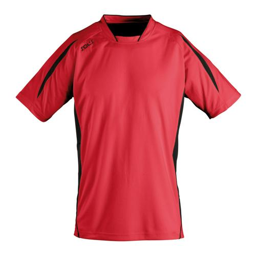 Maillot Club Maracana manches courtes rouge