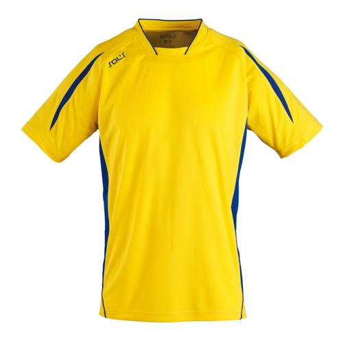 Maillot Club Maracana enfant manches courtes jaune