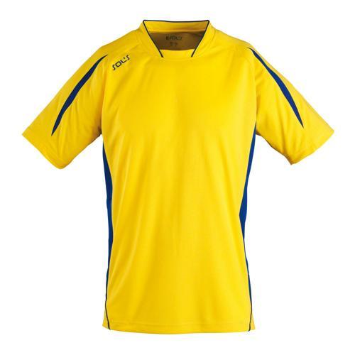 Maillot Club Maracana manches courtes jaune