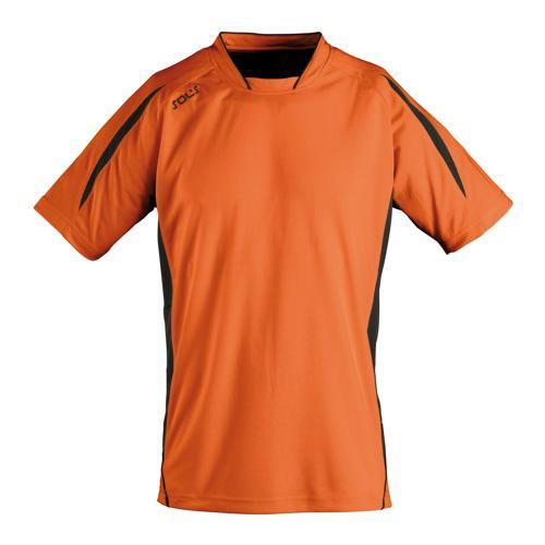 Maillot Club Maracana enfant manches courtes orange