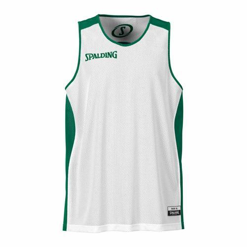 Maillot Spalding réversible blanc/vert