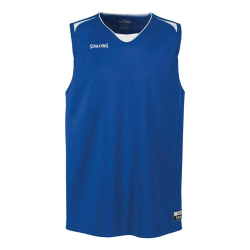 Maillot Spalding Attack kids royal / blanc