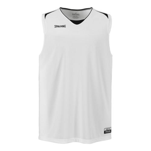 Maillot Spalding Attack adulte blanc/noir