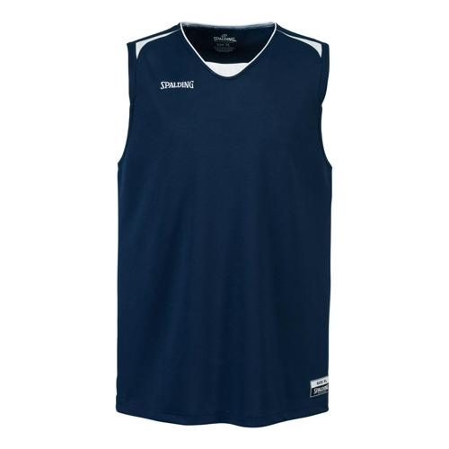 Maillot Spalding Attack adulte marine/blanc