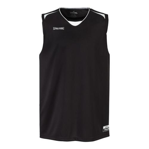 Maillot Spalding Attack adulte noir/blanc