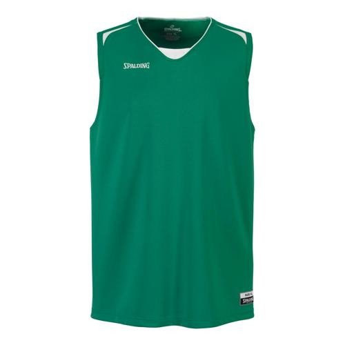 Maillot Spalding Attack adulte vert/blanc