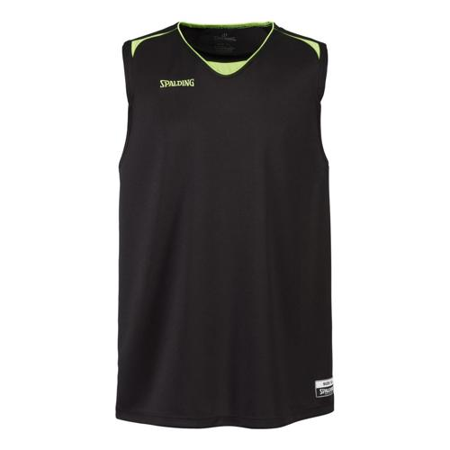 maillot adulte ATTACK SPALDING noir / jaune
