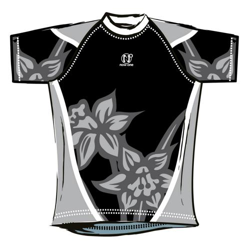 Maillot de rugby Now One exotic enfant noir