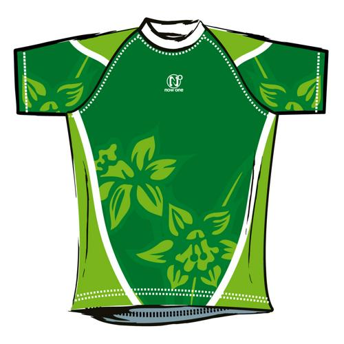 Maillot de rugby Now One exotic adulte vert
