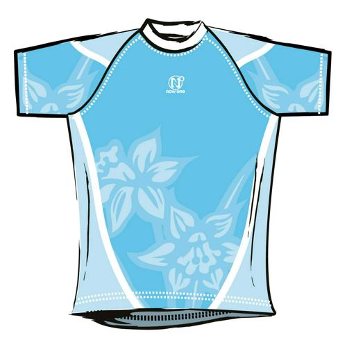 Maillot de rugby Now One exotic adulte ciel