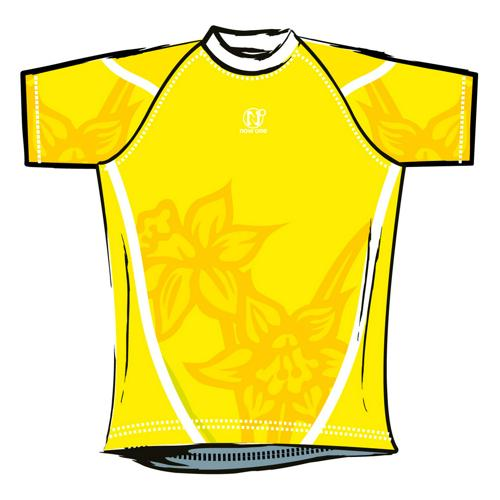 Maillot de rugby Now One exotic enfant jaune