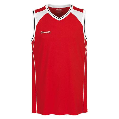 Maillot Spalding Crossover rouge / blanc