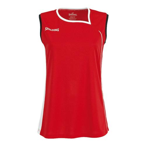 Maillot Spalding 4Her II Feminin rouge/blanc