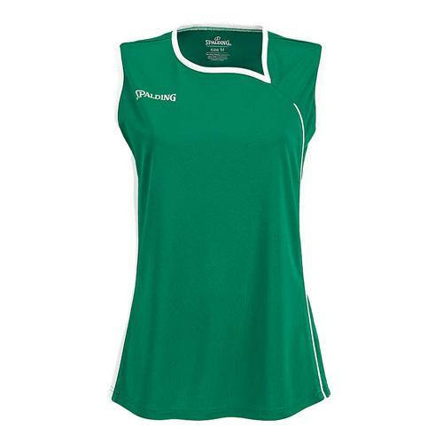 Maillot Spalding 4Her II Feminin Vert/blanc