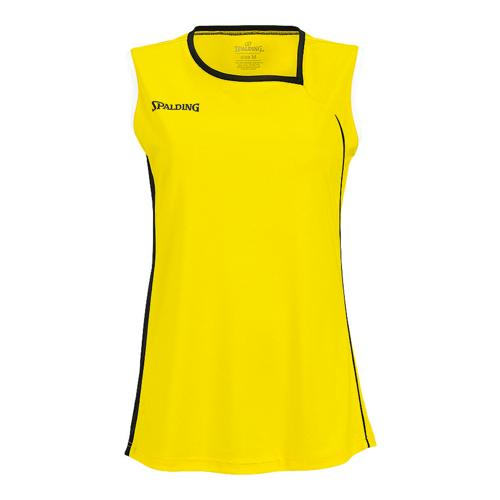 Maillot Spalding 4Her II Feminin jaune/noir