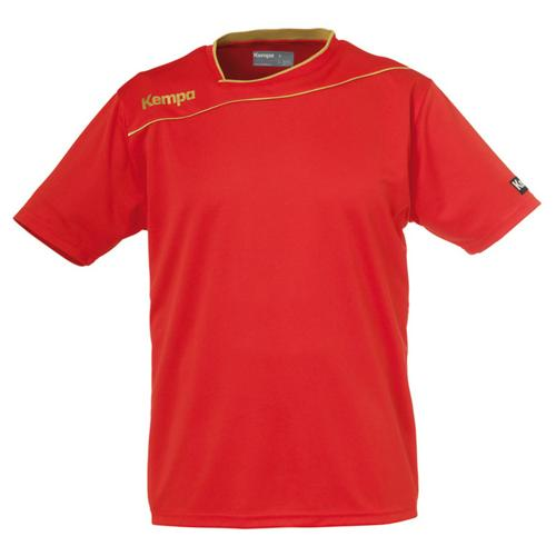 MAILLOT ROUGE GOLD KEMPA