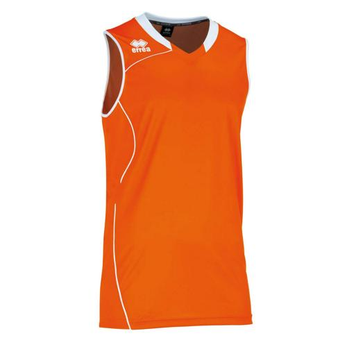 Maillot Errea Dallas orange/blanc