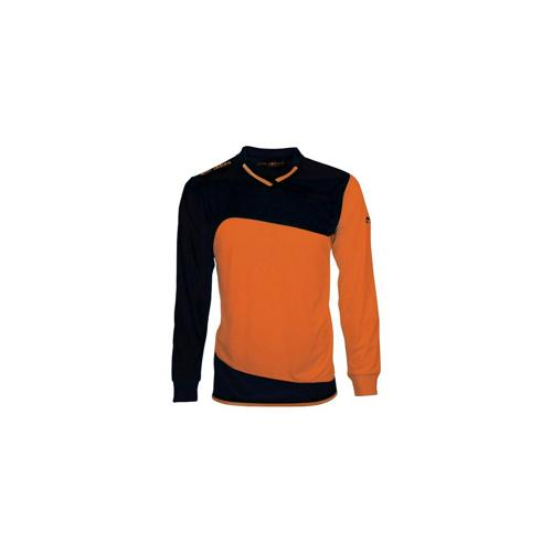 MAILLOT ML MONDIAL ELDERA NOIR-ORANGE