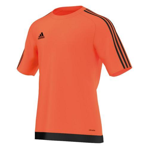 Maillot manches courtes adidas Estro orange noir