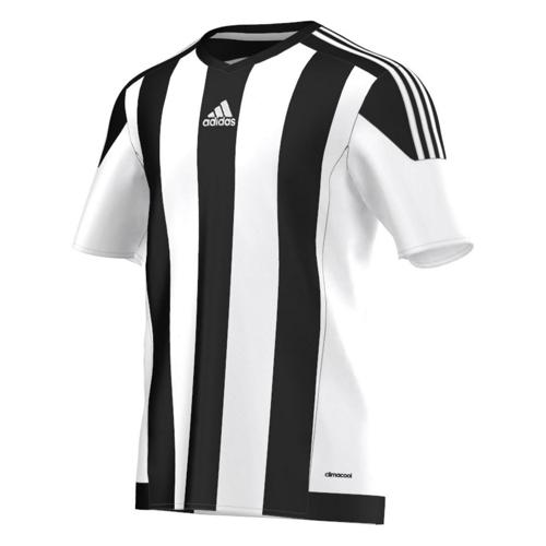 Maillot adidas Striped MC Noir-Blanc