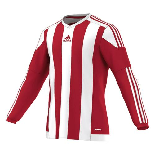Maillot adidas Striped ML Rouge-Blanc