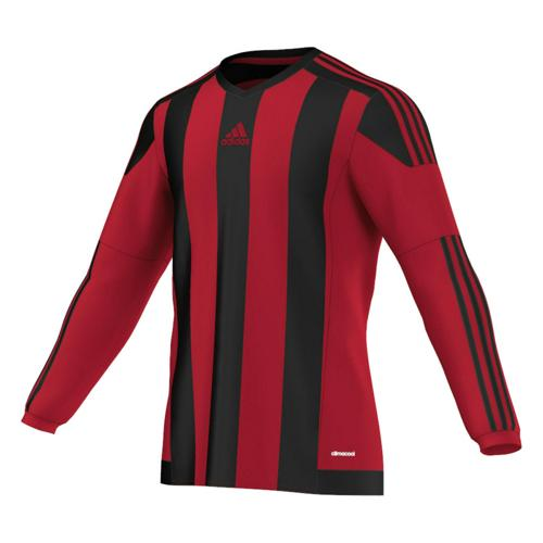 Maillot adidas Striped ML Rouge-Noir