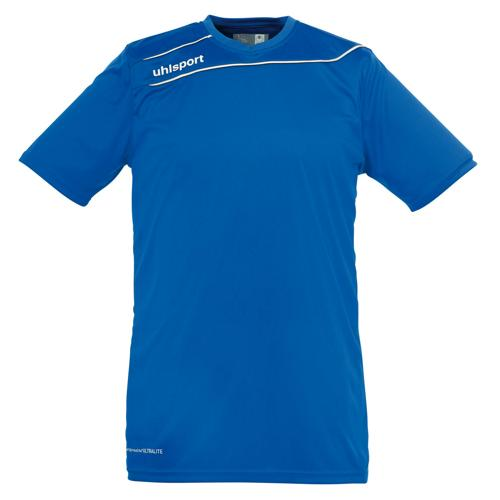 Maillot Uhlsport Stream 3 MC Azur-Blanc