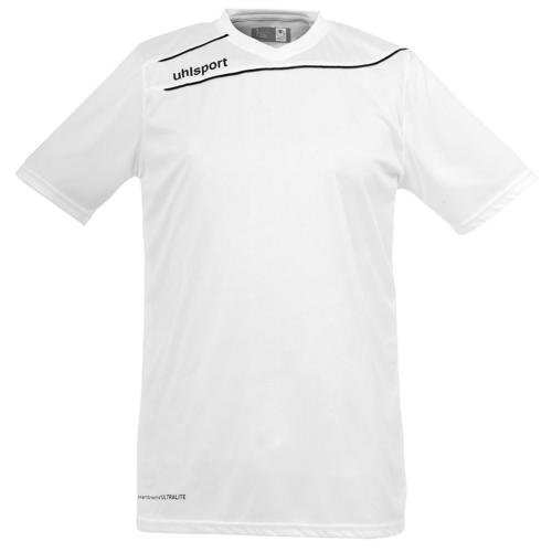 Maillot Uhlsport Stream 3 MC Blanc-Noir