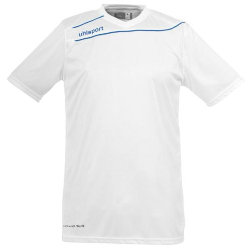 Maillot Uhlsport Stream 3 MC Blanc-Azur