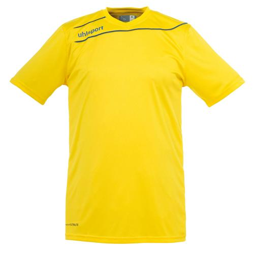 Maillot Uhlsport Stream 3 MC Jaune-Azur