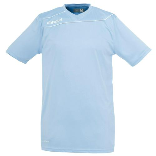 Maillot Uhlsport Stream 3 MC Ciel-Blanc